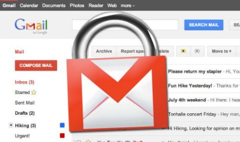 Gmail 开启 https