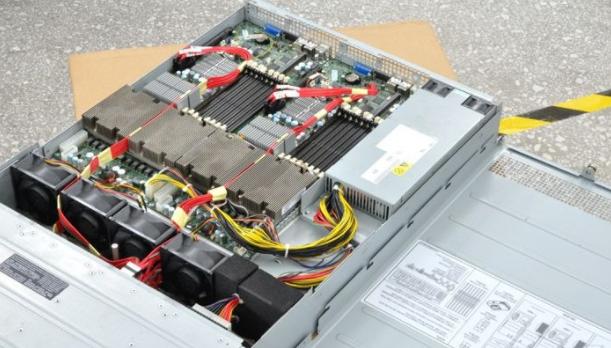 独立服务器拆机